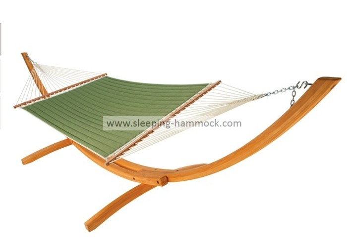 Big Daddy Light Green Double Hammock With Spreader Bar For Two Outdoor 450lbs Capacity
