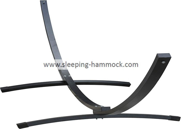 Deluxe Aluminum Arc Hammock Stand For Spreader Bar Hammocks 450 Pounds Capacity